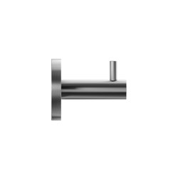 Individual stainless steel coat hook | Single hooks | Duten