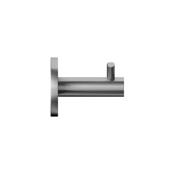 Double stainless steel coat hook | Single hooks | Duten