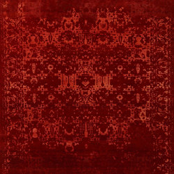Red Rouge | Rugs | Knotique