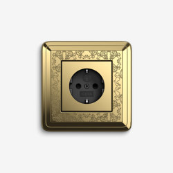 ClassiX | Socket outlet Art Brass | Schuko sockets | Gira