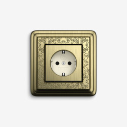 ClassiX | Socket outlet Art Bronze | Schuko sockets | Gira