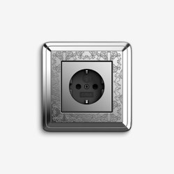 ClassiX | Socket outlet Art Chrome | Schuko sockets | Gira