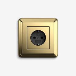 ClassiX | Socket outlet Brass | Schuko sockets | Gira