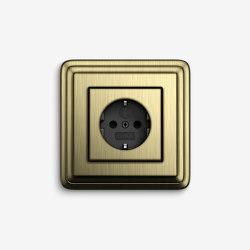ClassiX | Socket outlet Bronze | Schuko sockets | Gira