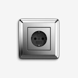 ClassiX | Socket outlet Chrome | Schuko sockets | Gira