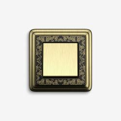 ClassiX | Switch ArtBronze black | Push-button switches | Gira