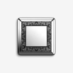 ClassiX | Switch ArtChrome black | Push-button switches | Gira