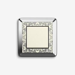 ClassiX | Switch ArtChrome cream white | Push-button switches | Gira