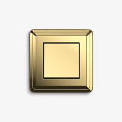 ClassiX | Switch Brass | Push-button switches | Gira