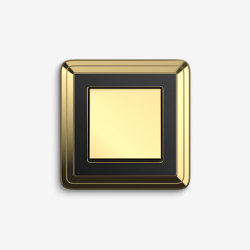 ClassiX | Switch Brass black | Push-button switches | Gira