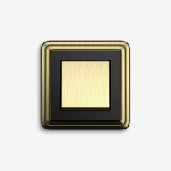 ClassiX | SwitchBronze black | Push-button switches | Gira