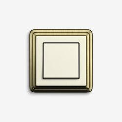 ClassiX | SwitchBronze cream white | Push-button switches | Gira