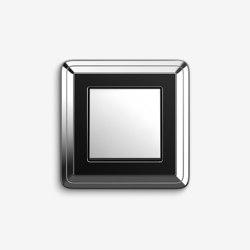 ClassiX | SwitchChrome black | Push-button switches | Gira