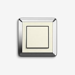 ClassiX | SwitchChrome cream white | Push-button switches | Gira