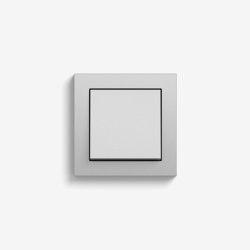 E2 | Switch Colour aluminium | Push-button switches | Gira