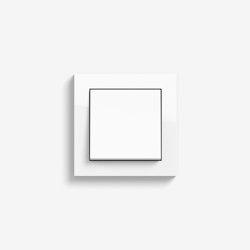 E2 | Switch Pure white glossy | Push-button switches | Gira