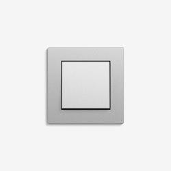 E2 Flat installation | Switch Colour aluminium | Push-button switches | Gira