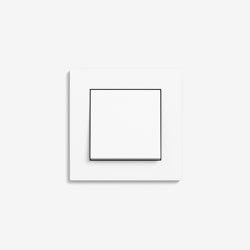 E2 Flat installation | Switch Pure white matt | Push-button switches | Gira