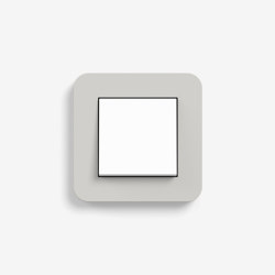 E3 | Switch Light grey with white | Push-button switches | Gira
