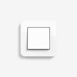 E3 | Switch Pure white glossy | Push-button switches | Gira