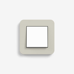 E3 | Switch Sand with white | Push-button switches | Gira