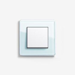 Esprit Glass | Switch Glass C mint | Push-button switches | Gira