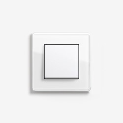 Esprit Glass | Switch Glass C white | Push-button switches | Gira