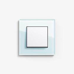 Esprit Glass   Switch Glass mint   Push-button switches   Gira