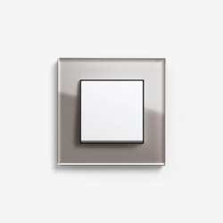 Esprit Glass | Switch Glass umber | Push-button switches | Gira