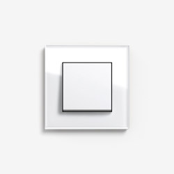 Esprit Glass | Switch Glass white | Push-button switches | Gira