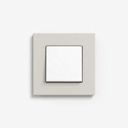 Esprit Linoleum-Plywood | Switch Light grey | Push-button switches | Gira
