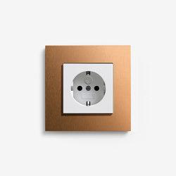 Esprit Metal | Socket Bronze | Schuko sockets | Gira