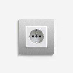 Esprit Metal | Socket outlet Aluminium | Schuko sockets | Gira