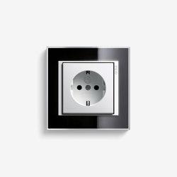 Event | Socket outlet Clear Black | Schuko sockets | Gira