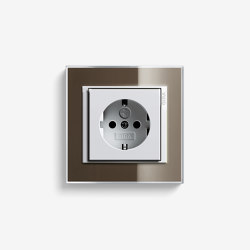 Event | Socket outlet Clear Brown | Schuko sockets | Gira