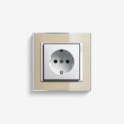 Event | Socket outlet Clear Sand | Schuko sockets | Gira