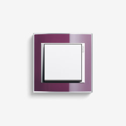 Event | Switch Clear Aubergine | Push-button switches | Gira