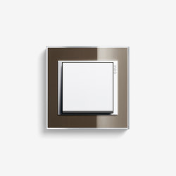 Event | Switch Clear Brown | Push-button switches | Gira