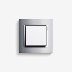 Event | Switch Colour aluminium | Push-button switches | Gira