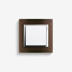 Event | Switch Opaque dark brown | Push-button switches | Gira