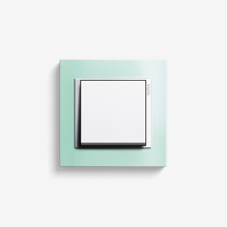 Event | Switch Opaque mint | Push-button switches | Gira