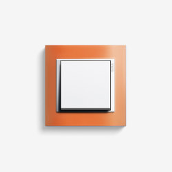 Event | Switch Opaque orange | Push-button switches | Gira