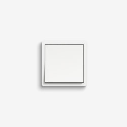 F100 | Pure white glossy | Push-button switches | Gira