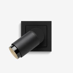 Plug & Light | spotlight Warm dimmable, Black matt | Wall lights | Gira
