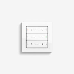 Smart Home/ Smart Building | Pushbutton Sensor 3 | Pure white glossy | KNX-Systems | Gira