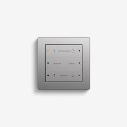 Smart Home/ Smart Building | Pushbutton Sensor 3 | Stainless steel | KNX-Systems | Gira