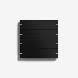 Smart Home/ Smart Building | Pushbutton Sensor 4 | Black aluminium | KNX-Systems | Gira