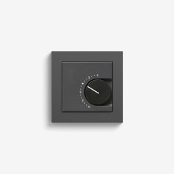 Heating and Temperature | Room temperature controller | Anthracite (including E2) | Heating / Air-conditioning controls | Gira