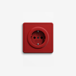 S-Color | Socket outlet Red | Schuko sockets | Gira