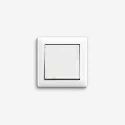 Standard 55 | Switch Pure white glossy | Push-button switches | Gira